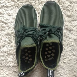 Green Men's Adidas Sneakers